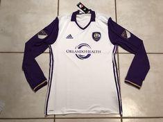 NWT ADIDAS Adizero Orlando City SC MLS Long Sleeve Jersey MSRP $150 Men's Large  | eBay