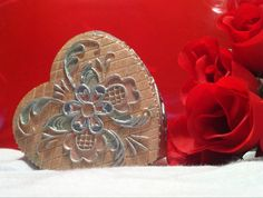 Check out this item in my Etsy shop https://www.etsy.com/listing/220958937/jewelry-box-heart-butterfly-flower