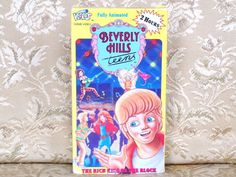 Beverly Hills Teens 1987 VHS ~ 4 Episodes ~ 80's Animated Show ~ The Rich Kids on the Block ~ 80's Nostalgia Cartoon Series