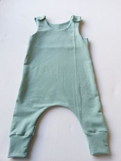 baby harem romper / harem jumpsuit Overall Baby boy girl one piece Available in size: 0-3 months - 5/6 years Material: summer sweat, Color is a
