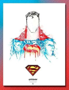 These Abstract Comic Hero Designs Will Please Any DC Fan #superhero #art trendhunter.com