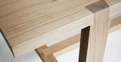 Weaver's Table - Benchmark Furniture - Large Dovetail Joints