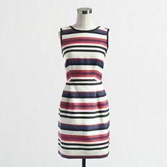 J.Crew Factory - Factory multicolor stripe dress