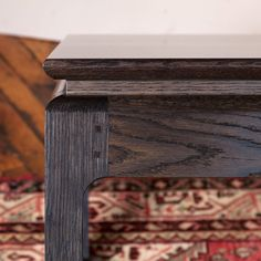Asian Inspired Coffee Table by 13StarsDesign on Etsy Amazing profile. Mortise and tenon - Love the square pegs. So elegant. #handcrafted #furniture