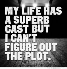 My life has a superb cast but I can't figure out the plot