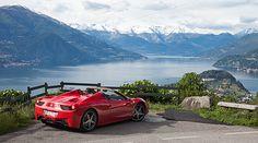 La Vita é Bella: Taking a Ferrari 458 Spider to Bellagio - Classic Driver - MAGAZINE - features