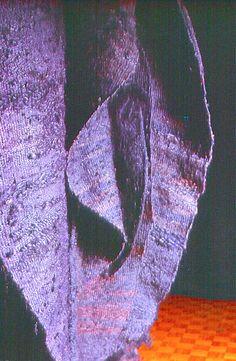 Early Abakan (Blue) by Magdalena Abakanowicz. Exhibitions: Magdalena Abakanowicz in Australia Magdalena Abakanowicz, Textiles, Online Art Gallery, Textile Art, Artsy Fartsy, Fiber Art, Sculpture Art, Sculpting, Contemporary Art