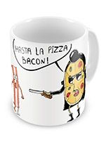 Presentes criativos - Caneca Hasta La Pizza