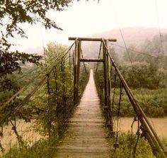 Swinging Bridge in Kentucky