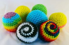 Off-the-Hook Crochet: Hacky Sacks