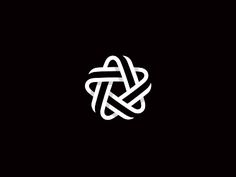 """A Star"" - company name. - I like the symmetry + integration of business name into a single image"