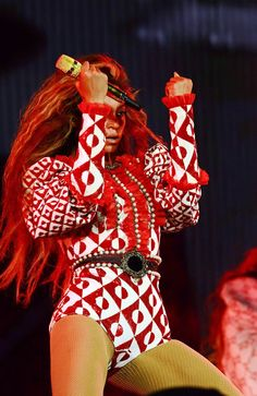 Beyonce performs during the opening night of the Formation World Tour at Marlins Park on April 27, 2016 in Miami, Florida