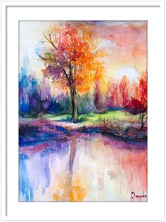 Sunsets This is a print of my original painting. Printed especially for you! Item DESCRIPTION SIZE: Standard sizes, fit in frames found in big shops like IKEA 8x10(20cmx25cm) - leaving extra for matting - US 8x12(20cmx30cm) - leaving extra for matting - EU 12x16(30cmx40cm) - leaving extra for matting 16x20(40cmx50cm) - leaving extra for matting 20x28(50cmx70cm) - leaving extra for matting 24x32(60cmx80cm) - leaving extra for matting Other dimensions are available upon request My archival…