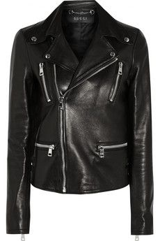 Gucci Leather biker jacket | NET-A-PORTER