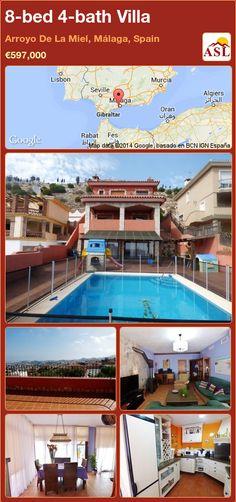 8-bed 4-bath Villa in Arroyo De La Miel, Málaga, Spain ►€597,000 #PropertyForSaleInSpain