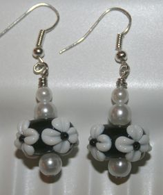 Check out this item in my Etsy shop https://www.etsy.com/listing/174639504/lampwork-earrings-beaded-earrings-glass