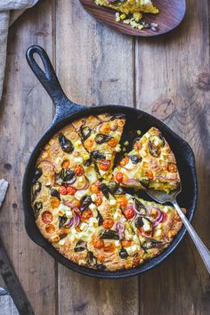 Cornbread with Sweet Corn, Cherry Tomatoes and Cheese | The Bojon Gourmet