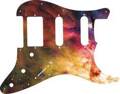Orion Nebula 1 Graphical Strat SSH 11 Hole Pickguard