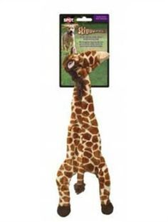 Ethical 5706 Skinneeez Giraffe StuffingLess Dog Toy 14Inch * You can get additional details at the image link.