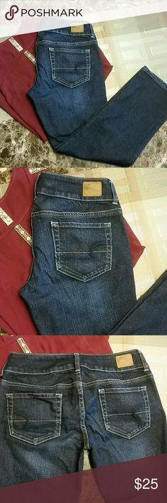 American Eagle Artist Stretch jeans sz. 4 regular Like new American Eagle Artist Stretch jeans sz 4 regular. American Eagle Outfitters Jeans