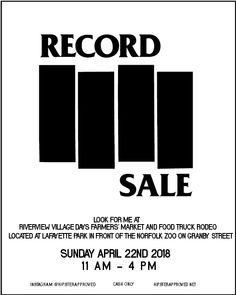 """I have hundreds of mostly classic rock priced to sell.  Both 12"""" LPs & 7"""" 45s Cash only."""