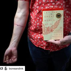 Any other dedicated book lovers out there with a book-inspired tattoo? Show us and we'll share! We love this one from @boneandink!  📚  #Repost @boneandink with @get_repost  ・・・  Thanks so much Daniel! @danieltapp I'm so glad I got to do such an inspiring first tattoo for you! As well as, adding a permanent piece of art to your collection! Have a wonderful Christmas!! 🎄🌟  .  .  .  #yeahthatgreenville #tightrope #tightropewalkertattoo #letthegreatworldspin #col Book List Must Read, Book Lists, List Challenges, Life Changing Books, Tattoo Shows, Book Aesthetic, Shelfie, What To Read, Last Minute Gifts