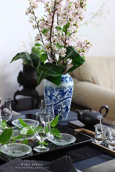 Fika, Japanese Food, Table Settings, Vase, Seasons, Table Decorations, Interior Design, Home Decor, Style