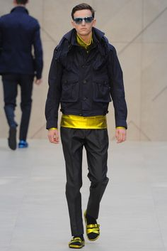 Burberry Spring 2013 Menswear Fashion Show