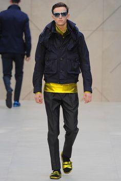Burberry Spring 2013 Menswear Fashion Show