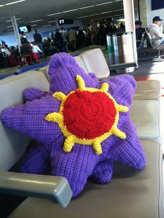 Starmie for a friend in Georgia - she left so quick, the only picture I have is from the airport!