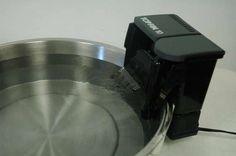 How to Make a Filtered Pet Watering Bowl DIY: Repurpose an inexpensive aquarium pum.