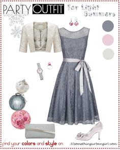 charming holiday party outfit idea for Light Summers
