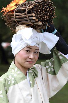 Traditional clothes The Jidai Matsuri Festival. The Kyoto Imperial Palace