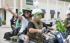 Luck with no rain at Downtown St. Patrick's Day Parade - w/photos #VeroBeach