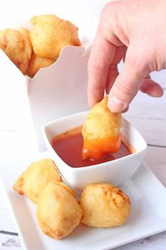 Homemade Sweet and Sour Chinese Chicken Balls - Asian foods: chinese, Japanese, Korean, Vietnamese, ect.Recipes - Homemade Sweet and Sour Chinese Chicken Balls. Homemade Chinese Food, Chinese Chicken Recipes, Easy Chinese Recipes, Asian Recipes, Chinese Chicken Balls Recipe, Homemade Sweets, Good Chinese Food, Homemade Food, Healthy Chinese Food