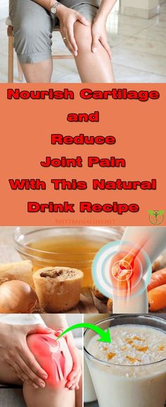 Nourish Cartilage and Reduce Joint Pain With This Natural Drink Recipe