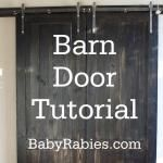 We are definitely going to do this! How To Build Barn Doors