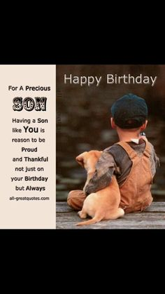 Birthday wishes for son best happy birthday son poems verses happy birthday son more m4hsunfo Image collections