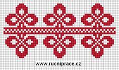 Free Biscornu side border Cross Stitch Patterns | National motives 7 - free patterns cross stitch