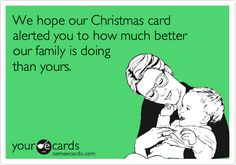 7 Thoughts of Toddler Moms at Christmastime, As Told Through Very Sarcastic E-Cards