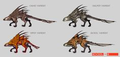 evolve monster concept - Google Search