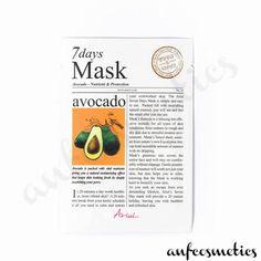 Ariul 7 days mask avocado Glowing Skin, Your Skin, Avocado, Moisturizer, Skin Care, Cosmetics, Day, Collection, Moisturiser
