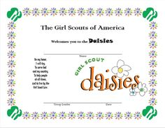 Daisy Girl Scouts on Pinterest   Girl Scout Daisies, Daisy Scouts and ...