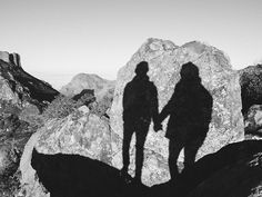 shadow pictures are a MUST for every hiking trip