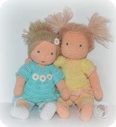 Waldorf Inspired Baby by AmigurumiBB Free crochet pattern