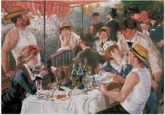 Pierre Auguste Renoir The Boating Party Lunch painting for sale, this painting is available as handmade reproduction. Shop for Pierre Auguste Renoir The Boating Party Lunch painting and frame at a discount of off. Pierre Auguste Renoir, Most Famous Paintings, Famous Artists, French Paintings, Classic Paintings, Popular Paintings, Claude Monet, August Renoir, Art History