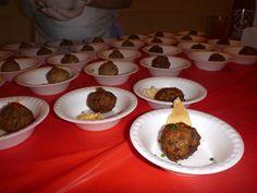 Brian's Soup Dumpling Meatballs!!!! We Ate That - Food Blog - Beer & Balls - Manhattan, NewYork