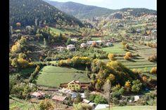 Türkiye'nin sonbahar güzelliği...GÜMÜŞHANE