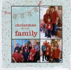 Christmas Means Family - Scrapbook.com