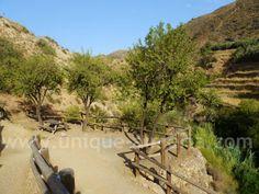 Padules Almeria - Andarax River - Las Alpujarras Spain - Las Canales